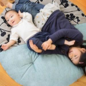 【もらって嬉しかった出産祝い】赤ちゃんのお昼寝布団に!直径1mもある洛中高岡屋のせんべい座布団