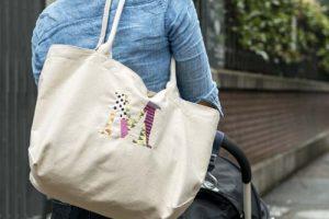 クーナセレクト限定!アコモデのイニシャルステッチマザーズバッグは超軽量で絶妙サイズです[PR]